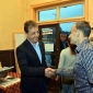 Проф. Лилков е с богат опит в общинското управление. Поздравява Тодор Петков