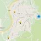 Картата на Владая с 5-те подадени сигнала на сайта на контактния център